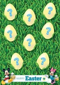Disney Digital Easter Egg Hunt
