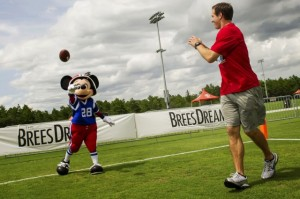 Mickey:Drew Brees