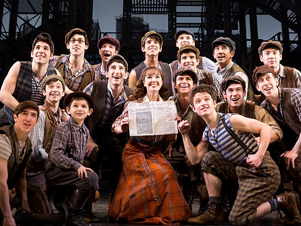 Disney to Stream 'Newsies' Facebook Live Event