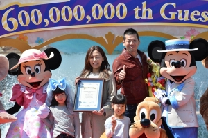 JAPAN-ENTERTAINMENT-DISNEY