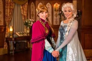 Anna & Elsa Meet & Greet