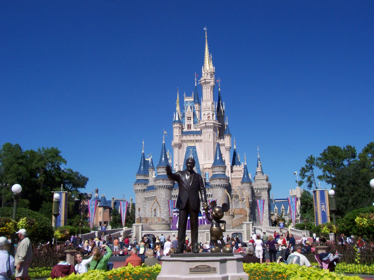 Florida Governor Ron DeSantis Outlines Next Steps In Theme Parks' Reopening Path