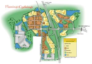 Flamingo Crossings Site Plan