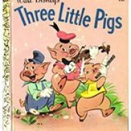 Three Little Pigs - Golden Books
