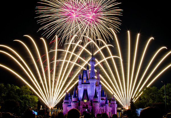 Disney Helps Blind 'Feel' Fireworks