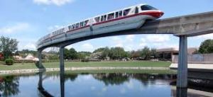WDW Monorail Red