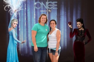 Once Upon a Time Frozen Photo Op