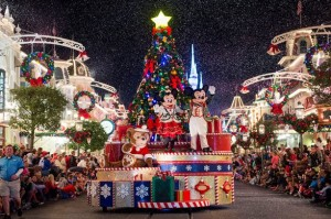 Mickey's Once Upon Christmastime Parade