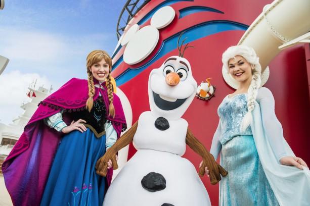 """Land of """"Frozen"""" Aboard Disney Cruise Line ThisSummer"""