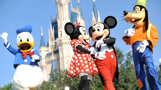 Magic Kingdom Most Visited Theme Park, Disney Parks Attendance Up