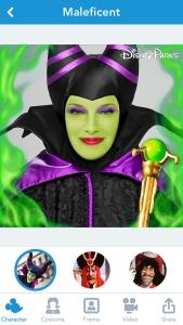 Disney Side App - Characters