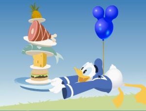 Disney Dining - Donald
