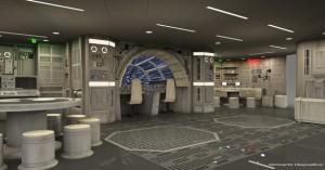 Disney Dream - Millenium Falcon Area