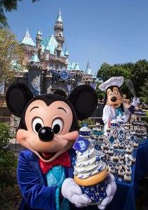 Disneyland Celebration Cupcakes