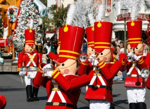 Disneyland Xmas Toy Soldiers