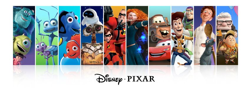 My Pixar Tournament and Pixar Movie Rankings