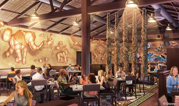 New Tiffins Restaurant at Disney's Animal Kingdom Opens Memorial Day Weekend