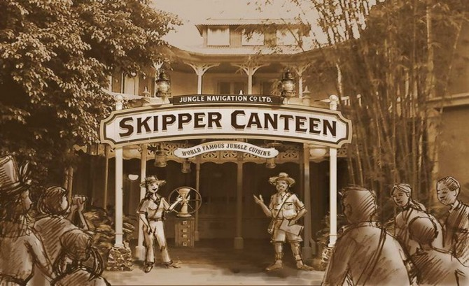 Same-Day Reservations Test for Jungle Cruise Skipper Canteen Extended