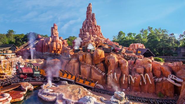 Walt Disney World's Big Thunder Mountain Railroad Refurbishment MovedBack