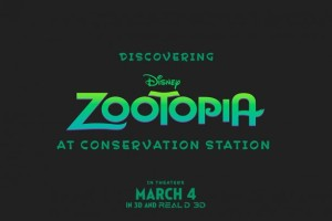 Zootopia at Conservatin Station