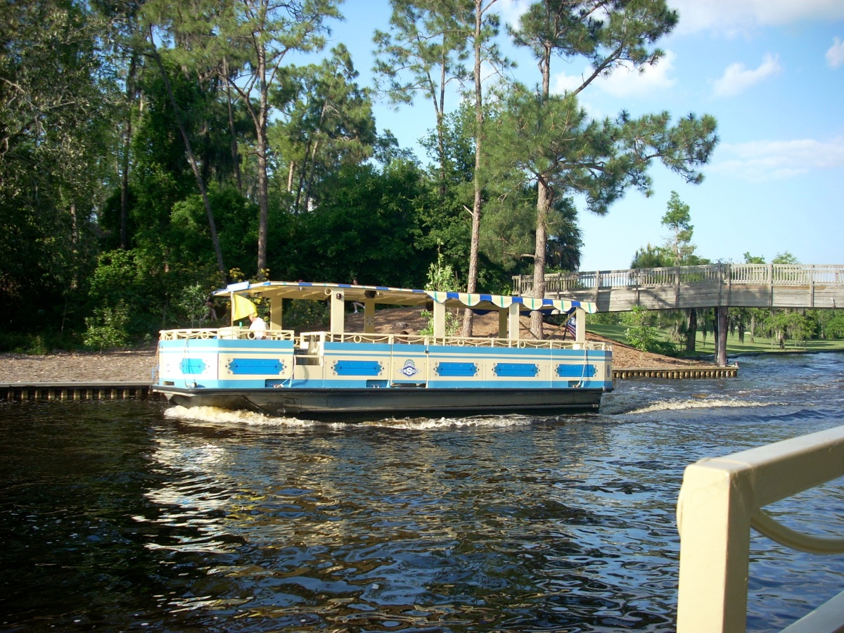 Disney Springs Water Taxi Hours to be Reduced