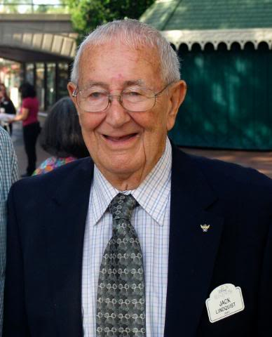 Jack Lindquist, First President of Disneyland, Dies