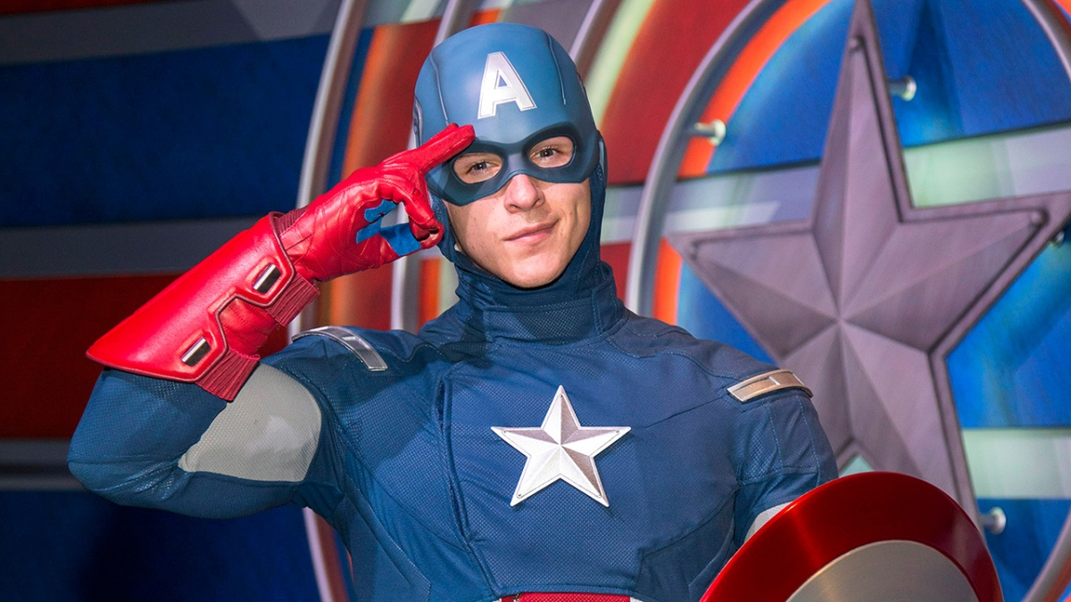 Captain America and Spider-Man Come to Disney CaliforniaAdventure