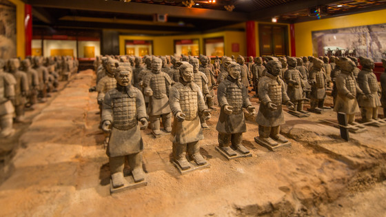 Tomb Warriors Exhibit at Epcot's China Pavilion Closing for Refurb in May