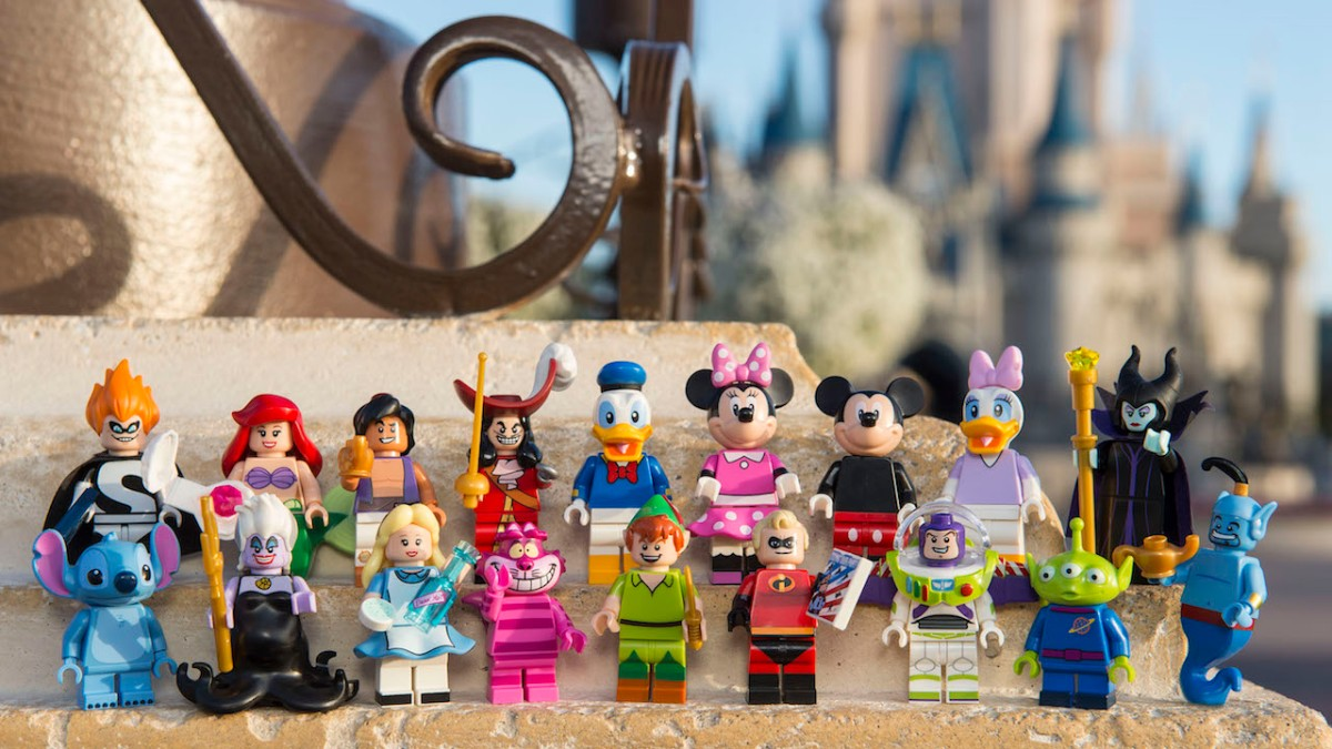 New LEGO Minifigures Featuring Iconic Disney Characters Debut in May