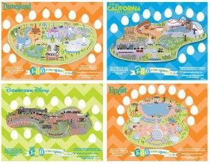Eggstravaganza Maps