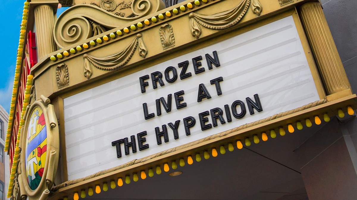 'Frozen – Live at the Hyperion' Opens May 27th at Disney California Adventure