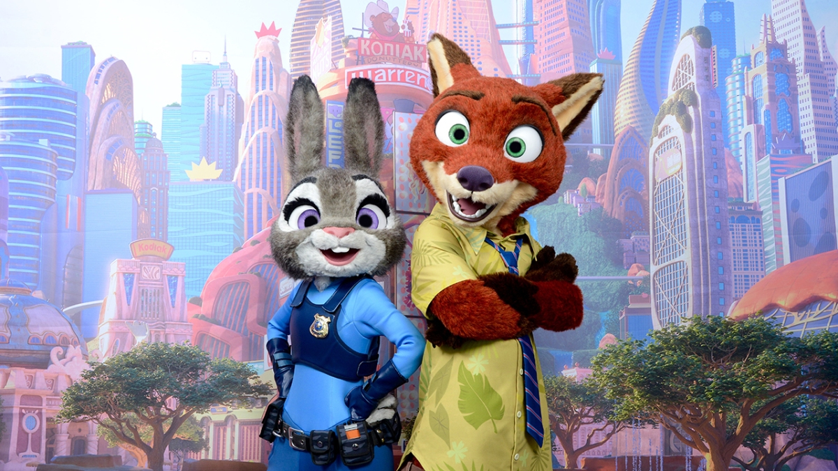 Nick Wilde and Judy Hopps from 'Zootopia' Are on the Way to Disney Parks