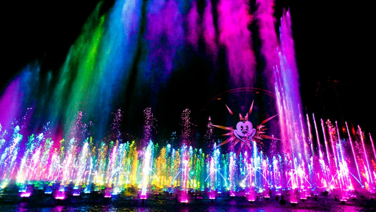 Reservations Open for New 'World of Color' Dessert Party at Disney California Adventure