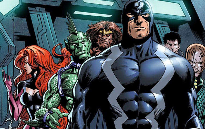 Disney Removes Marvel's 'Inhumans' From Release Schedule