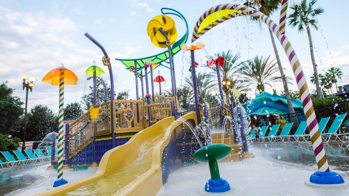 New Aquatic Play Area Opens at Disney's Port Orleans Resort – French Quarter
