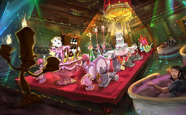 Tokyo Disneyland Adding Beauty and the Beast Land, Big Hero 6 Attraction