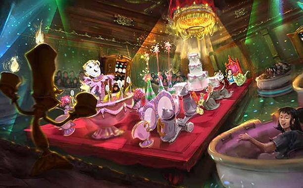 Tokyo Disneyland Adding Beauty and the Beast Land, Big Hero 6Attraction