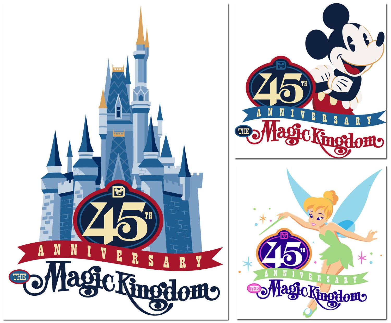 Disney Parks Walt Disney World 1971 Car Magnet Mickey Mouse Varsity WDW NEW