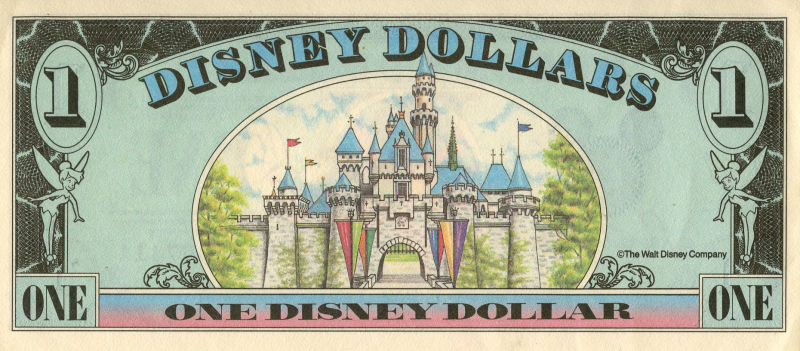 Disney to Discontinue Sale of Disney Dollars