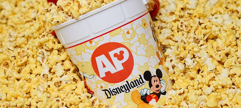 Disneyland Annual Passholders to Enjoy a Limited-Time Offer for $1.00 Popcorn and $1.00 Sipper Refills