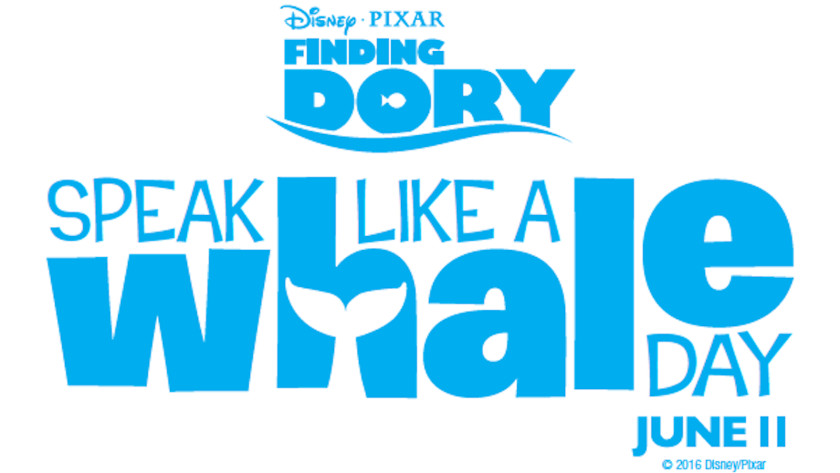 'Speak Like A Whale Day' This June11th