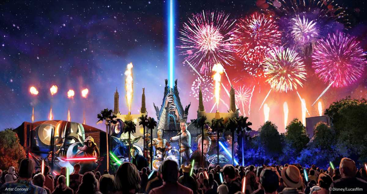 'Star Wars: A Galactic Spectacular' Dessert Party Moving to Star Wars Launch Bay in July