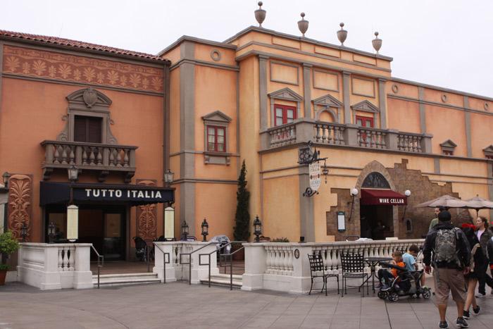 Epcot s tutto italia ristorante starts new 3 course prix for Tutete italia