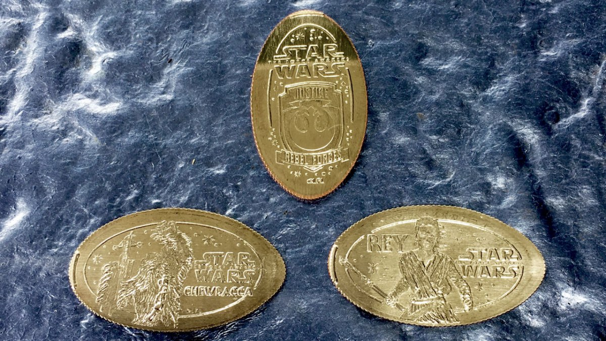 New Star Wars Pressed Coins Debut at the Disneyland