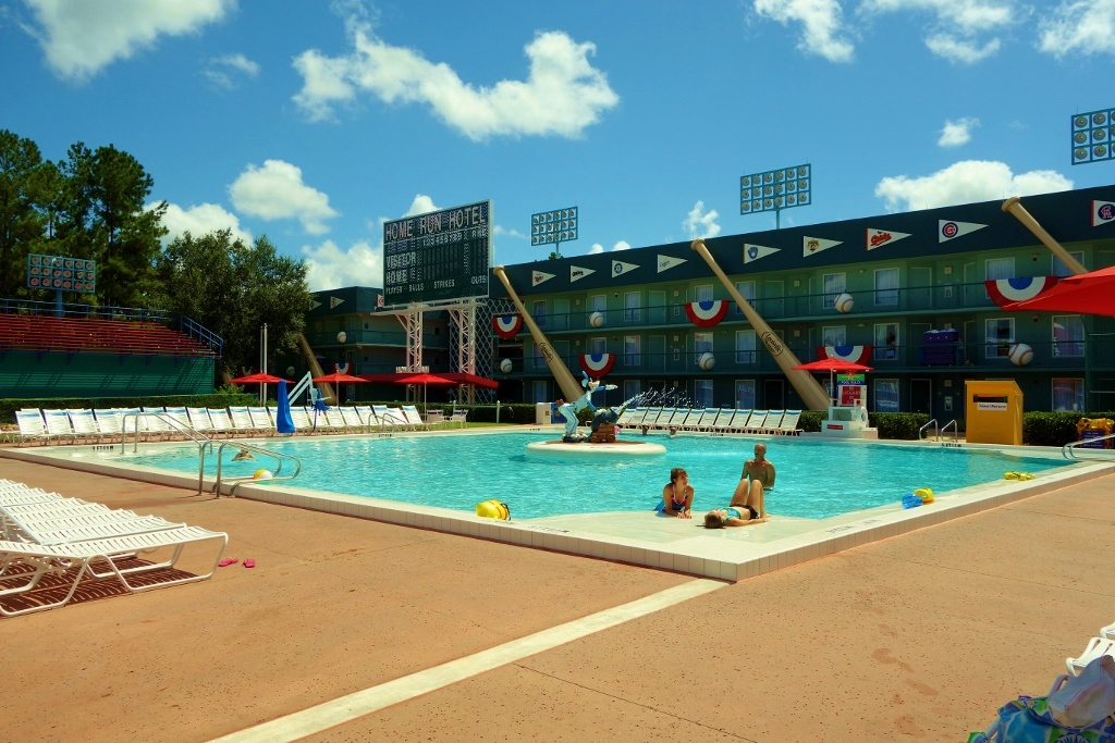 Grand Slam Pool at Disney's All Star Sports Resort to Close for Lengthy Refurbishment inFall