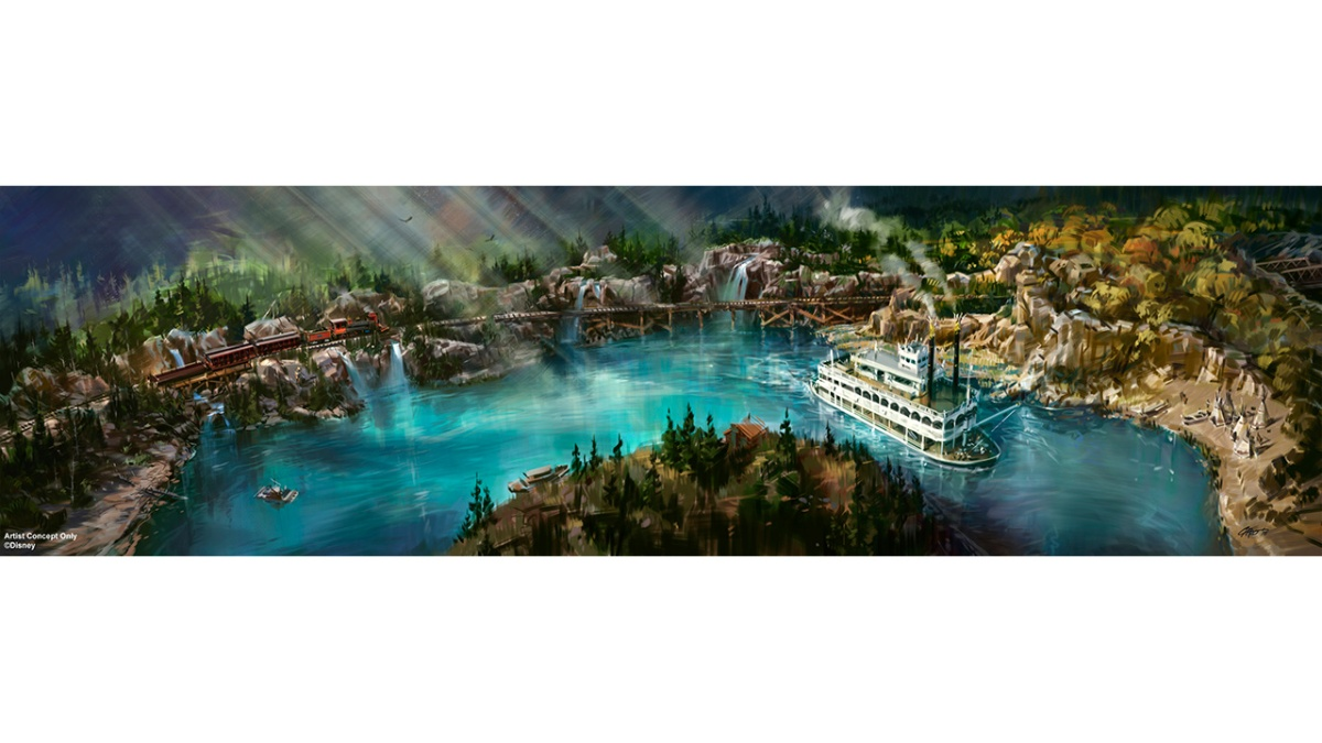 Disneyland Railroad and Rivers of America Attractions to Reopen Summer 2017 atDisneyland