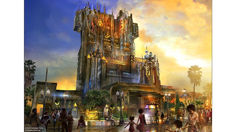 Guardians of the Galaxy – Mission: BREAKOUT! Coming to Disney California Adventure Park Summer2017