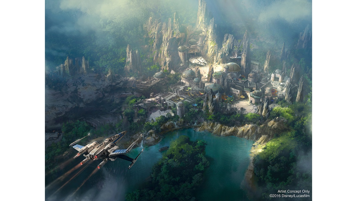 Disneyland Park Guests Get a Peek at New Star Wars-Themed Land