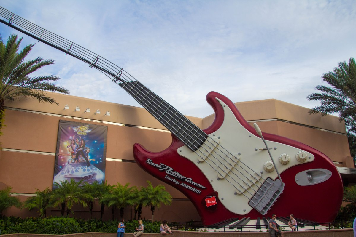 Walt Disney World Changes Steven Tyler's Hand Gesture on Rock 'n RollerCoaster