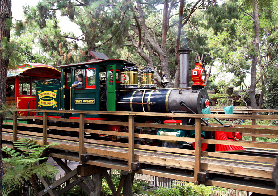 This Day in Disney History – 100th Anniversary of the Fred Gurley Steam Train No 3 Celebrated at Disneyland in 1994